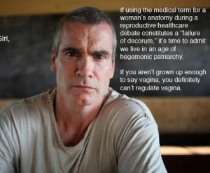 Although you might think Henry Rollins was joking, this was and is a real issue